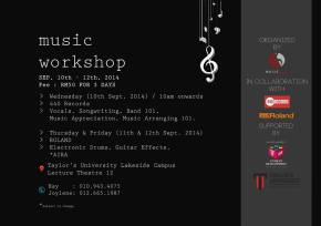 Music Workshop By 440 Records & Roland – with Juwita Suwito