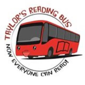 [Image Credits: Taylor's Reading Bus Program Facebook page]