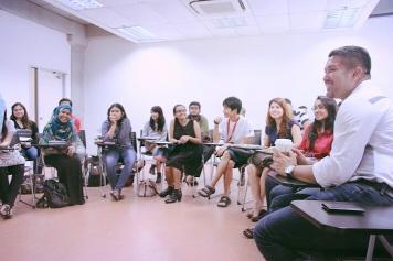 Mr Rubin Khoo from August Man @ ETC Magazine's Speaker Sessions.