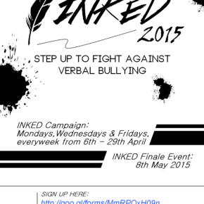 """""""INKED"""" Campaign – Against VerbalBullying"""