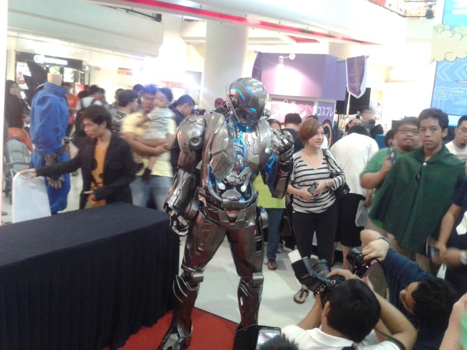 "A cosplayer portrays ""Ultron"" from Marvel's ""The Avengers 2: Age of Ultron"" at this weekend's Malaysia Cosplay Show at Subang Parade."