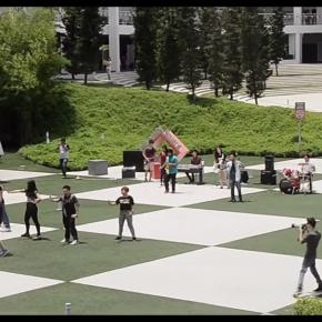 The Power of Three:Flashmob