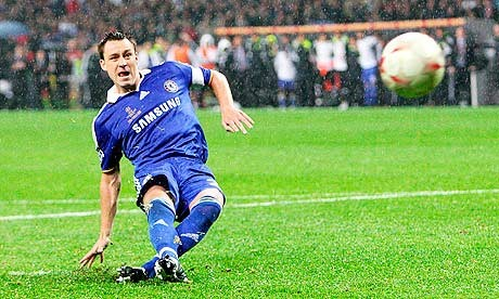Terry's slip during the Champions League penalty shoot-out.   Image credits (John Terry) - theguardian - http://www.theguardian.com/football/blog/2011/apr/06/chelsea-manchester-united-champions-league