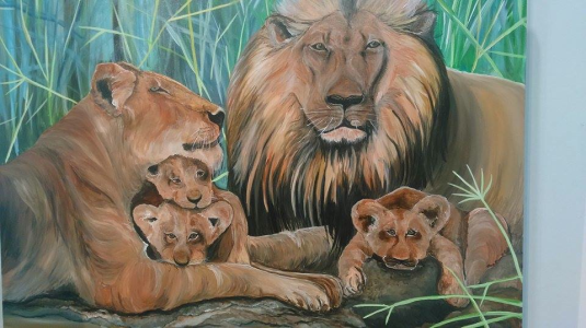 Title: Our Pride – A representation of his family.