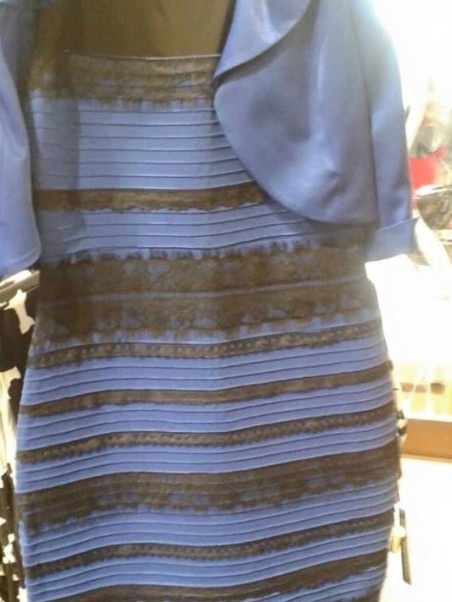 Caption: Remember #thedress ? [Image credit: USA Today]