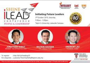 Why Should YOU Attend the 2nd iLeadConference?