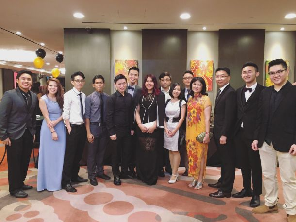Meet the committee and lecturers who went all out for the prom.